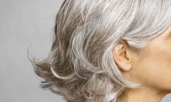 How to Style Gray Hair