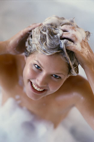 Safe shampoo for shiny hair